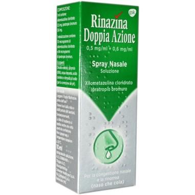 Spray Nasale Rinazina Doppia Azione