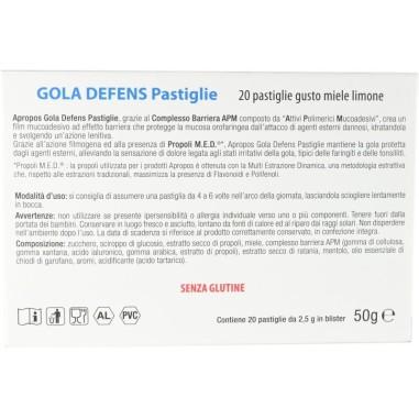 Pastiglie Gola Defens