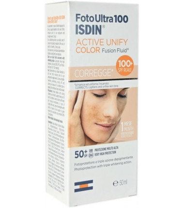 Active Unify Color Fusion Fluid SPF 100+ Foto Ultra ISDIN