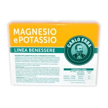 Magnesio Potassio Carlo Erba